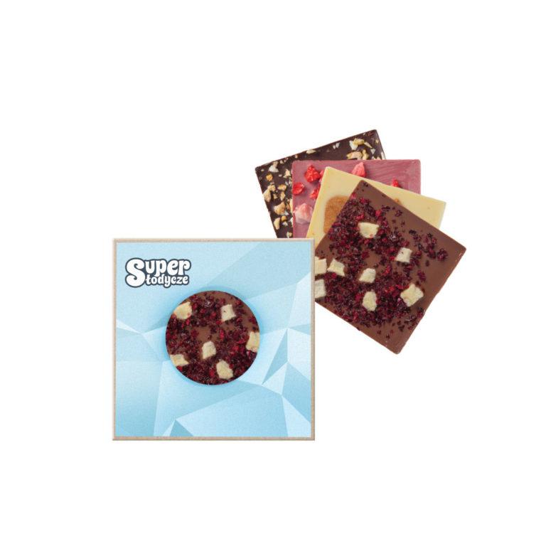 Gama czekoladek reklamowych z nadrukiem